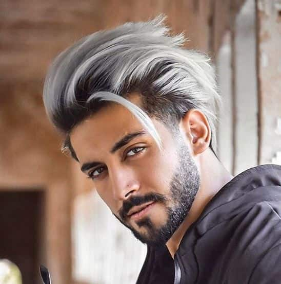 best hair color, grey hair color for men, ash grey hair color for indian men, ash hair color