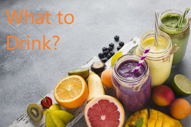 What to drink for weight loss, drinks for weight loss